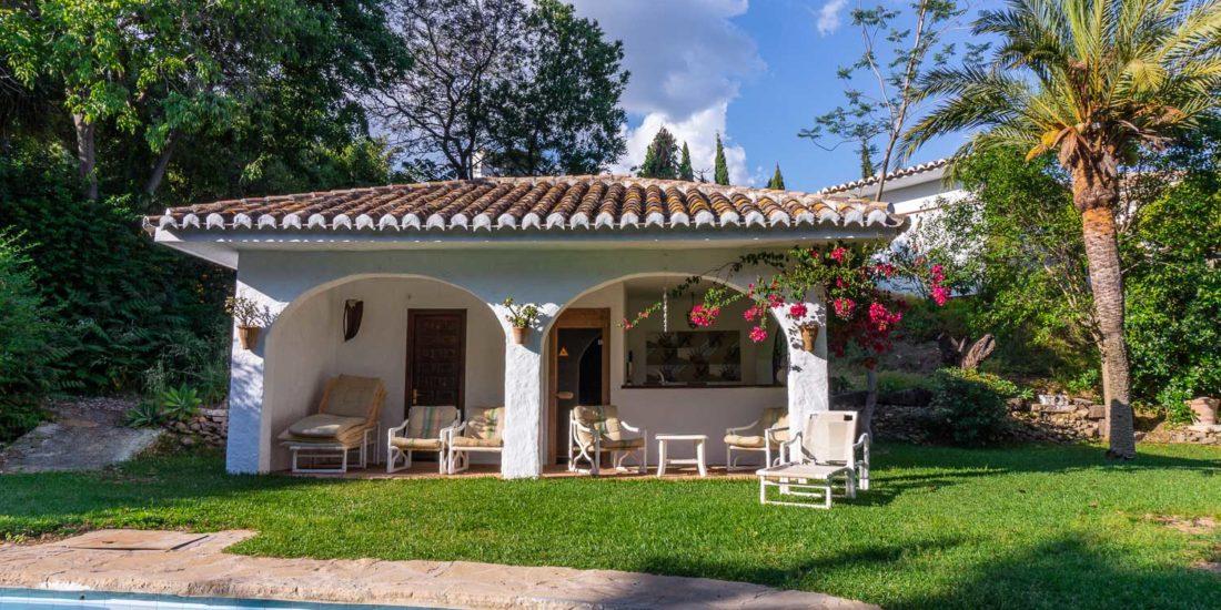 lasbrisas costadelsol terrace house rent
